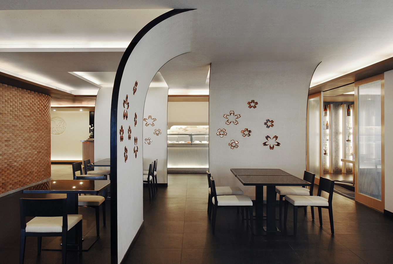To Celebrate The Time Honored Japanese Culinary Traditions Its Interior Design Is Fundamentally Traditional Yet Endowed With A Contemporary Edge